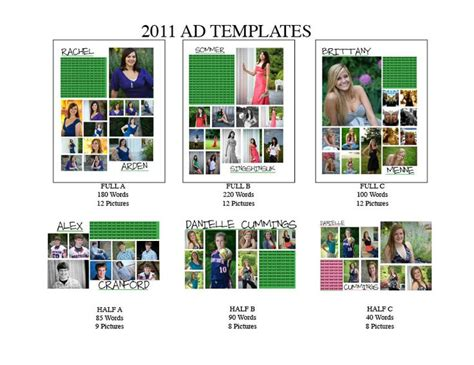 yearbook layout programs 78 best yearbook senior ad ideas images on pinterest