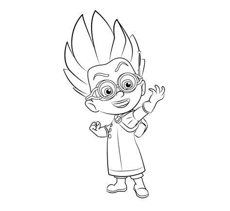coloring pages for pj masks pj masks coloring pages coloring home