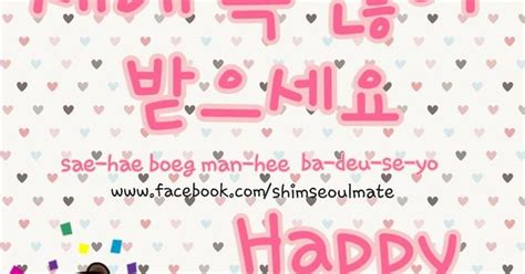 new year in korean language how to say quot happy new year quot in korean 새해 복 많이 받으세요