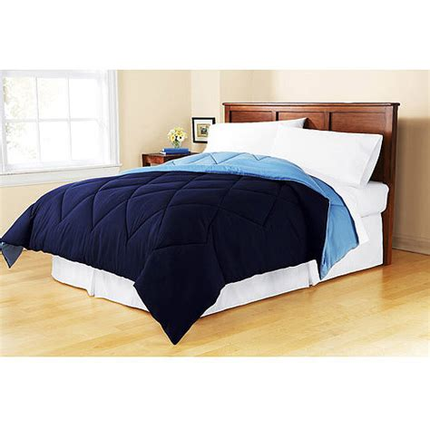 mainstay comforter mainstays reversible microfiber comforter walmart com