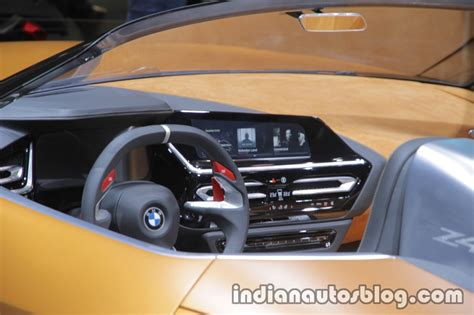 bmw dashboard at bmw concept z4 dashboard at iaa 2017