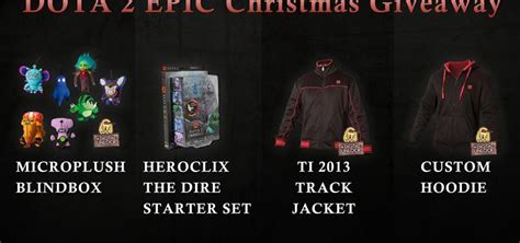 Giveaway Dota 2 - dota 2 epic christmas giveaway gt gamersbook