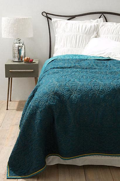 teal coverlet marseille coverlet i anthropologie com