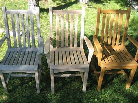 Cleaning Teak Furniture by Teak Furniture Care And Maintenance Corner