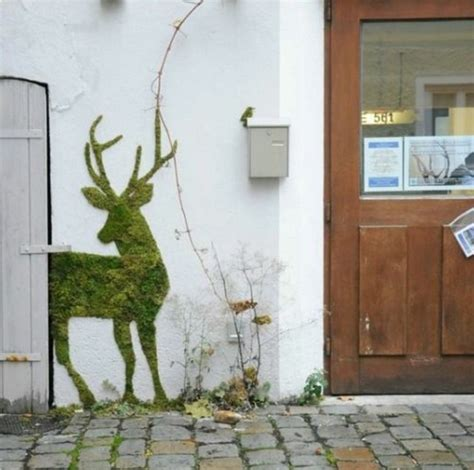 Faire Pousser De La Mousse Vegetale by 1001 Id 233 Es Pour Un V 233 G 233 Tal Avec Des Graffiti En Mousse