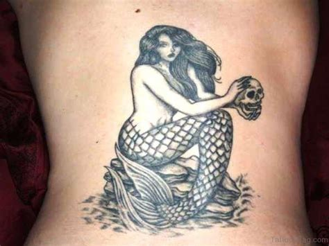 mermaid tattoos 39 cool mermaid tattoos on back