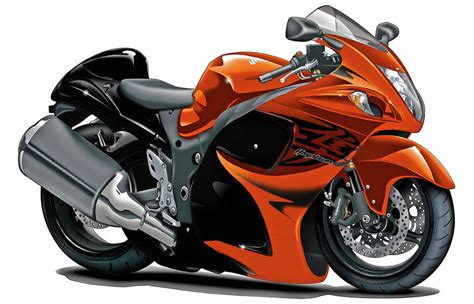 Orange Suzuki Suzuki Hayabusa Orange Bike By Maddmax