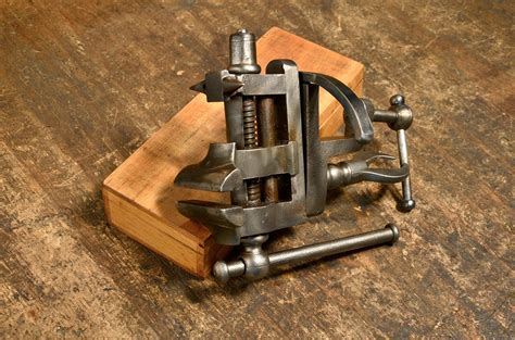 bench mounted vice antique woodworking forum