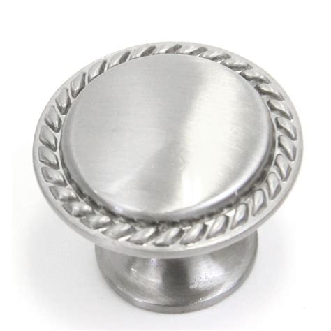brushed silver cabinet hardware bead cabinet hardware pull knob brushed nickel finish