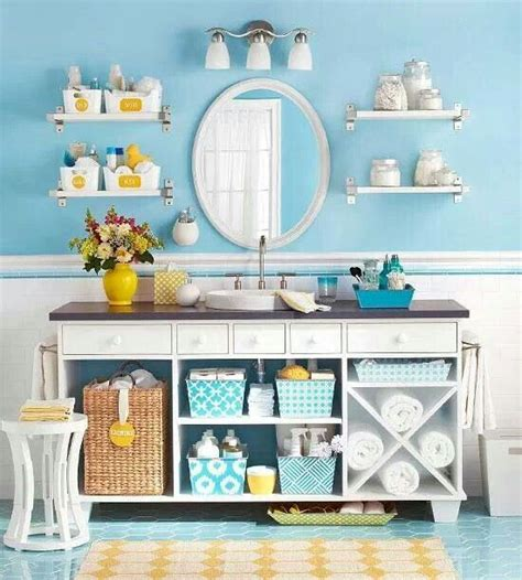 blue and yellow bathroom ideas blue and yellow bathroom bathroom ideas pinterest