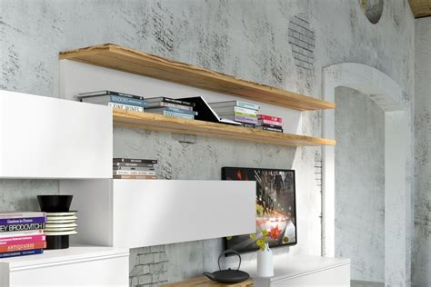oggetti per mensole cool soggiorno moderno sospeso napol arredamenti mensole