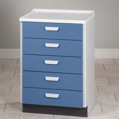 Clinton Cabinet by Treatment Cabinet 5 Drawer Base Cabinet Clinton 8805
