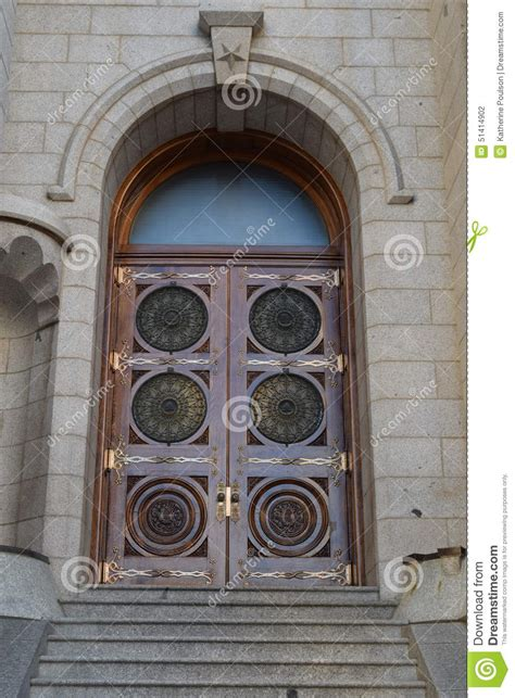 The Door Slc by Salt Lake Temple Door Stock Photo Image Of Wood Door