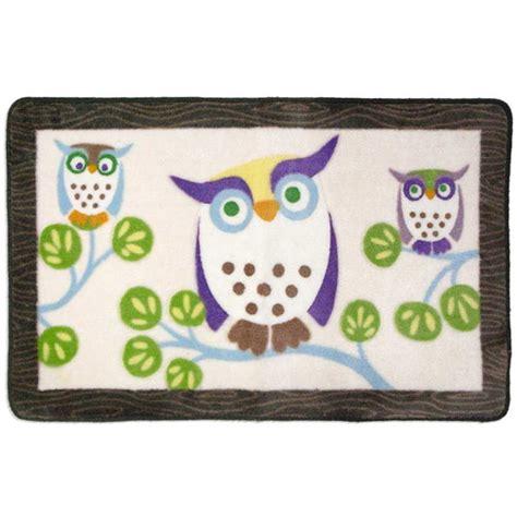 awesome owls bath rug walmart