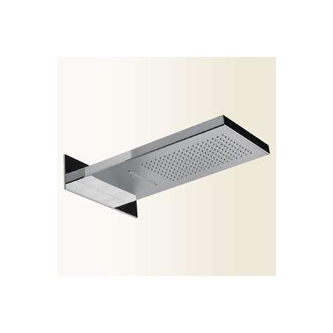soffione doccia a parete soffione rettangolare a parete per doccia gaboli f lli