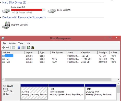format hard drive vista recovery partition hard drive what happened to my recovery partition after