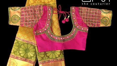 Latest Silk Saree Blouse Designs   YouTube