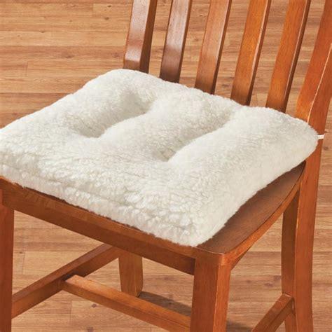 oakridge comforts sherpa chair pad sherpa chair cushion chair pad