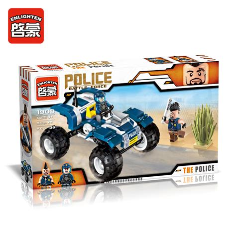Best Seller Mainan Anak Car Construction 6 Pcs Mainan Anak aliexpress buy 139pcs enlighten battle city patrol car building blocks
