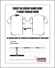 shirt order form template free t shirt order forms templates word besttemplates123