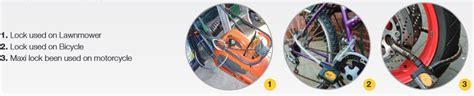 Gembok Beralarm jual yale lock alarm for motor bike ycl1 20 alarm murah bhinneka