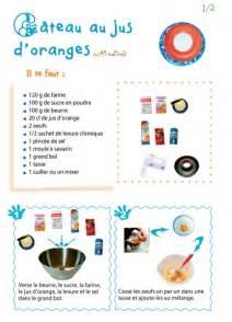 Imprimer La Recette Du G 226 Teau Au Jus D Orange 1