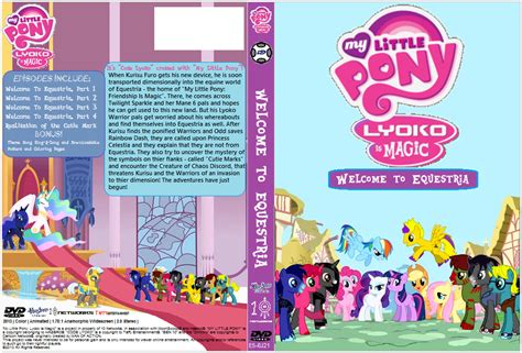Hm 7 Kode L Twilight Sparkle Set mlp lyokoismagic welcome to equestria dvd by 10networks on