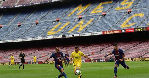 barcelona imbang hasil tak terduga di pertandingan barcelona melawan tim