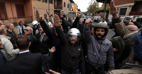 clashes cancel ss officer erich priebke s funeral in rome
