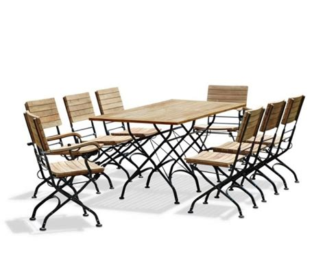 Teak Bistro Table And Chairs Bistro Table And 8 Chairs Set