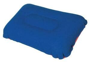 up air filled bed pillow for cing or travel blowup c ebay