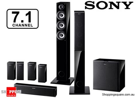 sony sa pf55h71 7 1 channel home theatre speaker system
