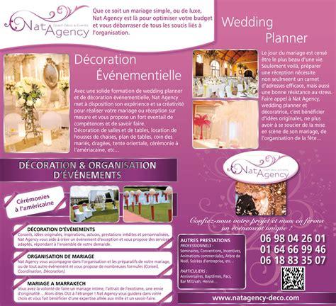 Article De Decoration Pour Mariage by Article De Presse Nat Agency Organisation Et