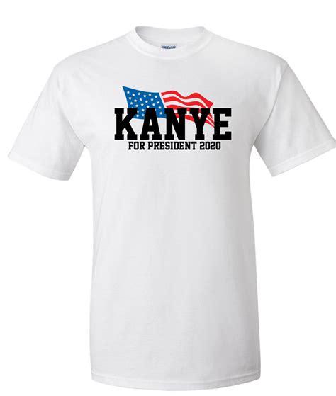 T Shirt Kanye 2020 kanye for president 2020 logo graphic t shirt