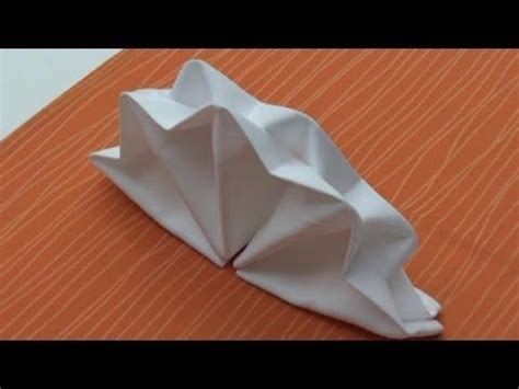 Origami Napkin Folding - 128 best images about tischdeko on flower