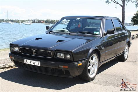 1985 maserati biturbo maserati biturbo 425 1985 4d saloon 5 sp manual 2 5l twin