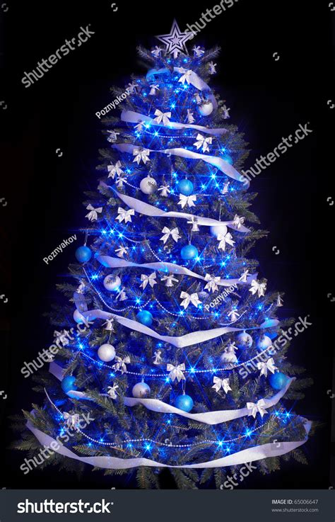 black light christmas tree christmas lights decoration