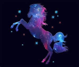 Paint Stickers For Wall quot space horse universe kosmos galaxy star quot travel mugs