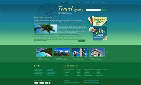 Tour Design Template by Our Templates Web Designing Company In Delhi Web Templates