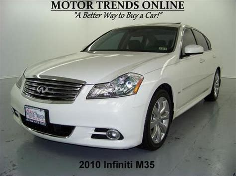 how to sell used cars 2010 infiniti ex on board diagnostic system sell used navigation rearcam roof chrome wheels exhaust htd ac seats 2010 infiniti m35 65k in