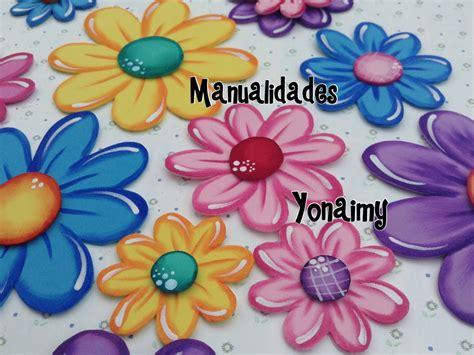 flores de foamy flores de foamy o goma eva planas o con termoformado fino