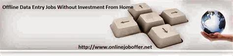Online Data Entry Work From Home Without Registration Fee - offline data entry jobs work from home without any investment 2016 online part