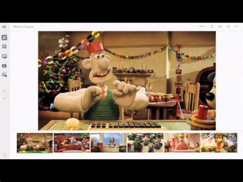 bbc creature comforts wallace gromit google hangout youtube