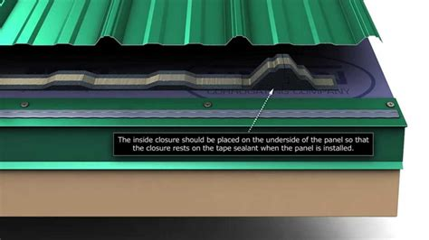 install unions masterrib metal roofing panels
