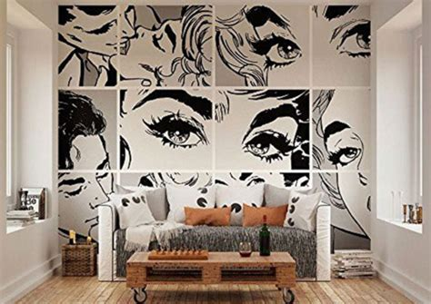 wide wallpaper home decor pop art