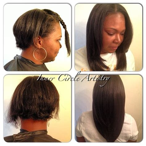 weave growth before after beautiful before after flawless sew in hair weaves by