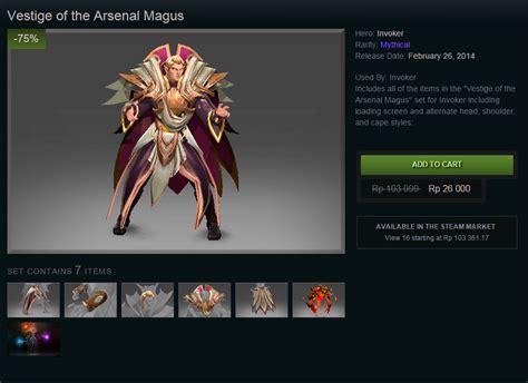 arsenal magus aadallah original blog dota 2 sale invoker set vestige