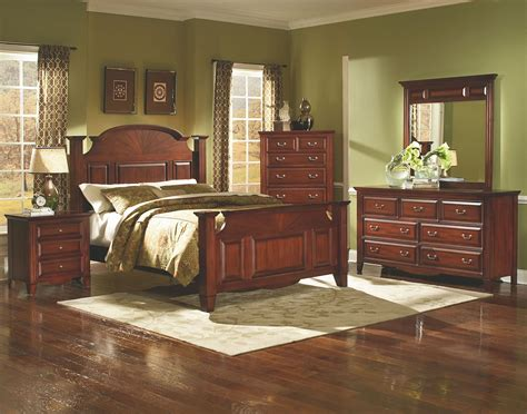 drayton bordeaux panel bedroom set from new classics