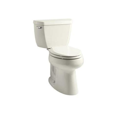 comfort height toilet home depot kohler highline comfort height two piece elongated 1 28