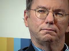 eric mcgee google schmidt downplays google s competition with facebook